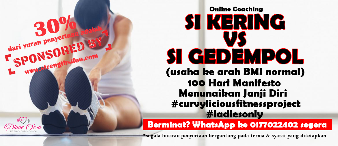 Online Group Training: Si Kering Vs Si Gedempol