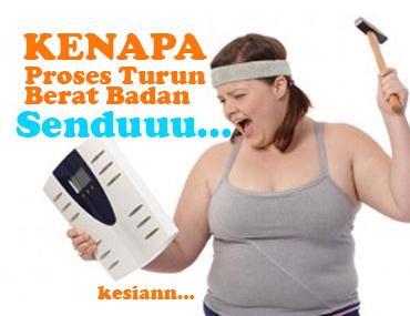 Tips Turunkan Berat Badan Dengan Cepat dan Sihat Versi Cik Tom
